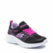 Sportcipő SKECHERS Bold Delight fekete-pink 302468L/BLK Black, mosógépbe mosható