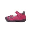 D-D-step rózsaszín első lépés felvezetőpántos cipő pillangóval