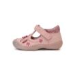 D.D,step rózsaszín-csillogó rózsaszín első lépés lány balerina  virágokkal,pillangóval