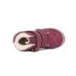 D.D.Step Vízlepergető rózsaszín magas szárú két tépőzáras ,téli,bélelt kislány bokacipő
