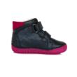 """D.D.Step Kislány """"világító"""" magas szárú cipő kék-pink ,pöttyös mintával,,két tépőzárral állítható , nagyon jól tartja a gyerek lábát nem engedi bedőlni a bokát"""