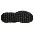 Fekete színű Skechers 144003-BKGY női bokacsizma. Felső része: Bőr-szintetikus felső, belső része: textil belső, talprésze: szintetikus talp, nagyon kényelmes mindennapi viseletre, szélesebb lábra is jó