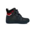 D.D.Step Kisfiú magas szárú cipő sötétkék-piros ,két tépőzárral állítható , nagyon jól tartja a gyerek lábát nem engedi bedőlni a bokát