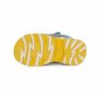 D.D.Step tenger kék -okker sárga két tépőzáras Kisfiú szandál maci mintával