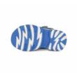 D.D.Step kék két tépőzáras Kisfiú szandál maci mintával