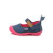 D.D.step kék-rózsaszín delfines lány balerina cipó, vászon,nagyon kényelmes