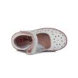 Ponte20 fehér-ezüst csillogó balerina lány cipő