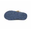 Ponte20 szürke -kék - okkersárga két tépőzáras  Szupinált fiú klasszikus szandál