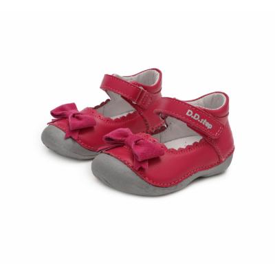 """D.D.Step Kislány """"első lépés"""" pink nyitott szandálcipő ,balerina nagy masnival az elején"""