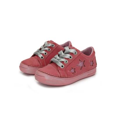 D.D.step pink lány cipő ezüst fűzővel