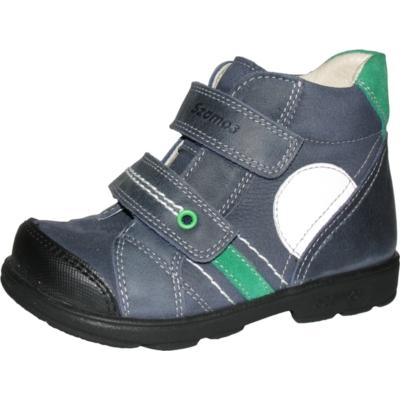 Szamos szupinált magas szárú kék fiú cipő