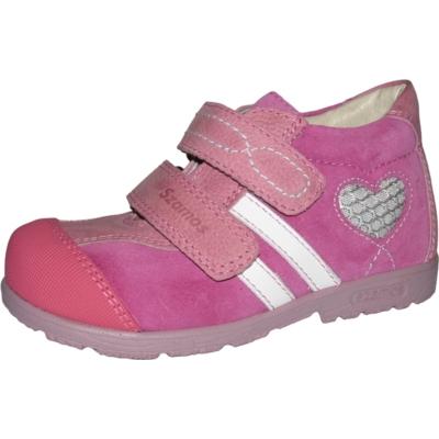 Szamos szupinált pink-fehér lány cipő