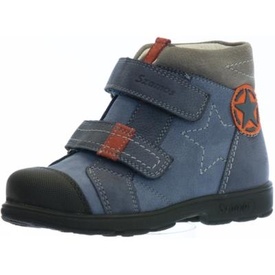 Szamos szupinált kék-szürke magas szárú fiú cipő