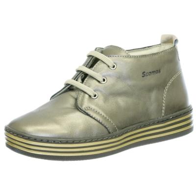 Szamos óarany fűzős lány,női cipő magas szárú