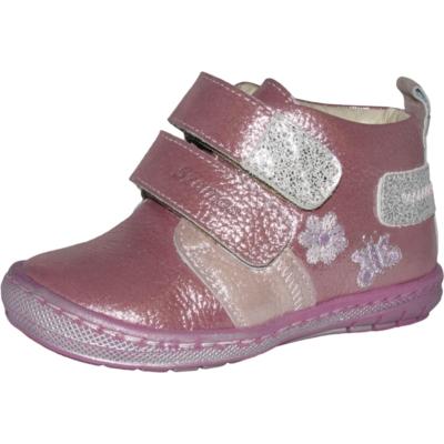 Szamos csillogó bőr első lépes két tépőzáras lány cipő