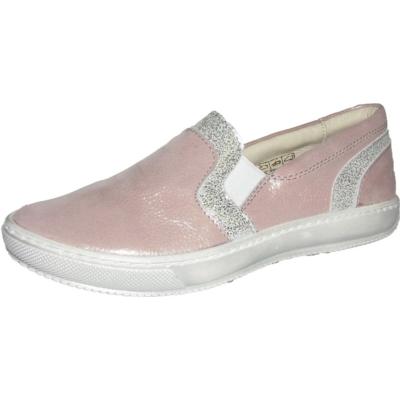 Szamos csillogó rózsaszín-ezüst lány,slip on cipő, nagyon kényelmes, jól tartja a lábat