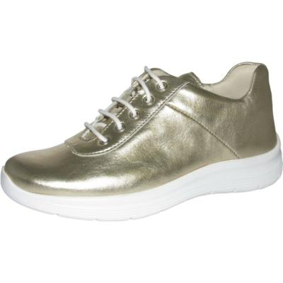 Szamos arany fűzős lány,női félcipő általános utcai viseletre