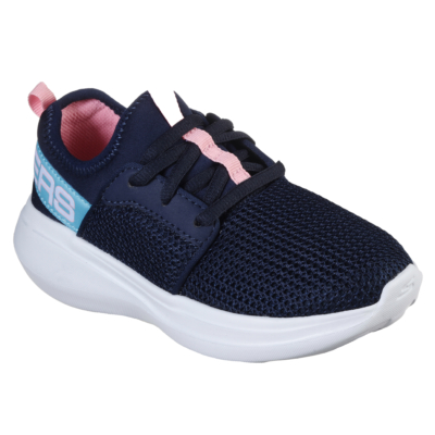Skechers kék-rózsaszín lány sport cipő