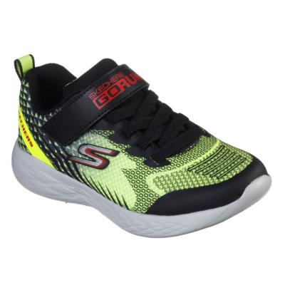 Skechers fekete-zöld fiú sport cipő