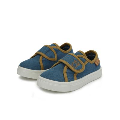 D.D.step világos kék fiú vászon cipő